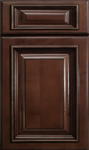 Signature Brownstone Raised Panel Kitchen Cabinet