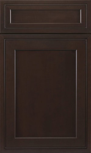 Chestnut Espresso Transitional Kitchen Cabinet