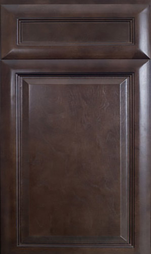 K Series Espresso Glaze Raised Panel Kitchen Cabinets