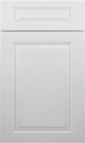 Gramercy White Raised Panel Kitchen Cabinet