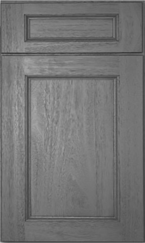 Midtown Grey Transitional Kitchen Cabinets