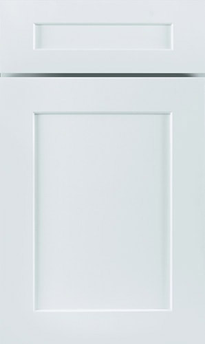 White Maple Shaker Kitchen Cabinet