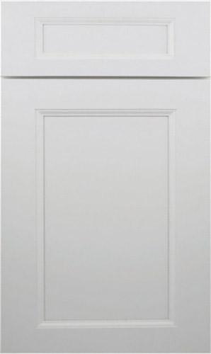 Wellington Uptown White Raised Panel Kitchen Cabinet