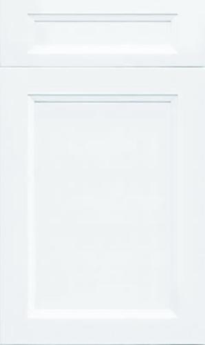 Bellrose Bright White Transitional Kitchen Cabinet
