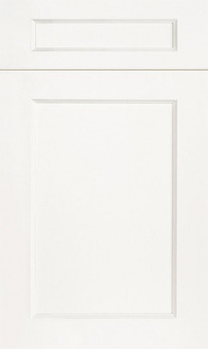 Greenfield Simply White Transitional Kitchen Cabinet