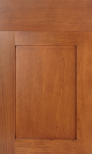 Lakeland Cherry Golden Honey Shaker Kitchen Cabinets