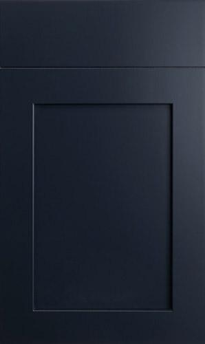 Lakeland Midnight Blue Shaker Kitchen Cabinets