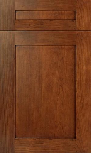 Lakeland Cherry Cognac Shaker Kitchen Cabinets
