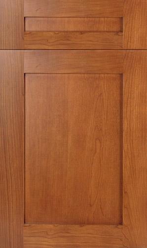 Lakeland Cherry Golden Honey Shaker Kitchen Cabinets