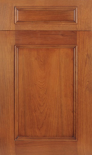 Ridgewood Cherry Golden Honey Transitional Kitchen Cabinet