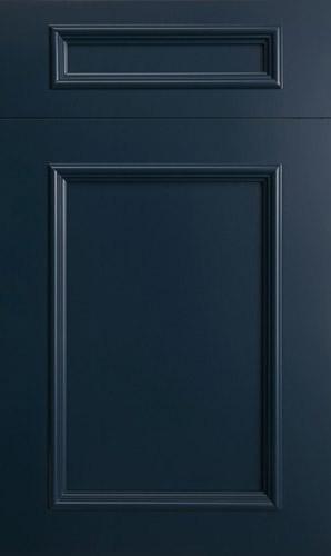 Ridgewood Oceana Blue Transitional Kitchen Cabinet