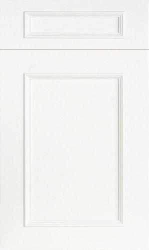 Ridgewood Simply White Transitional Kitchen Cabinet