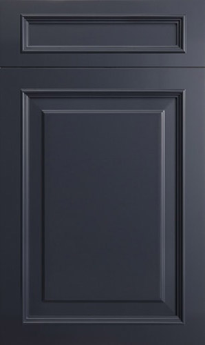 Wellington Blue Raised Panel Kitchen Cabinet