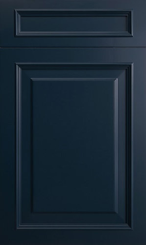 Wellington Oceana Blue Raised Panel Kitchen Cabinet