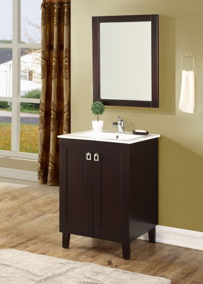 Elan 24′ Dark Walnut with Matching Mirror