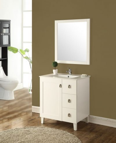 Elan 30′ White with Matching Mirror