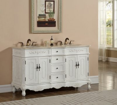 Kensington 60′ Double Antique White