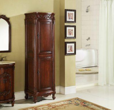 Tuscany 21′ Linen Cabinet Teak