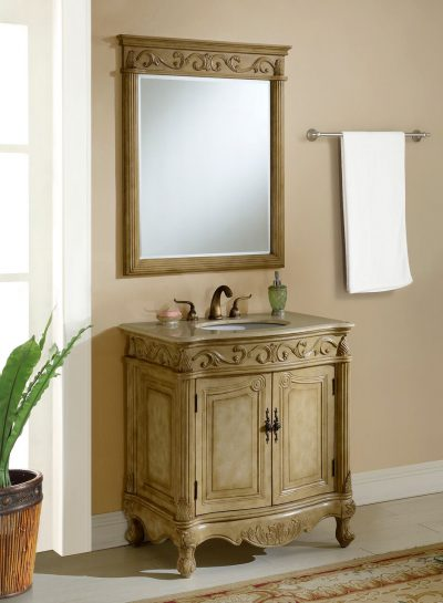 Tuscany 32′ Tan with Matching Mirror