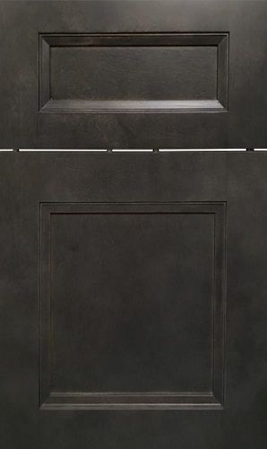 Gables Grey Raised Panel Kitchen Cabinet