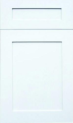 Hampton White Raised Panel Kitchen Cabinet