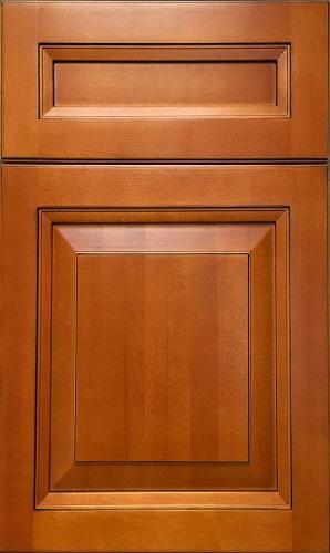 Sahara Maple Raised Panel Kitchen Cabinet